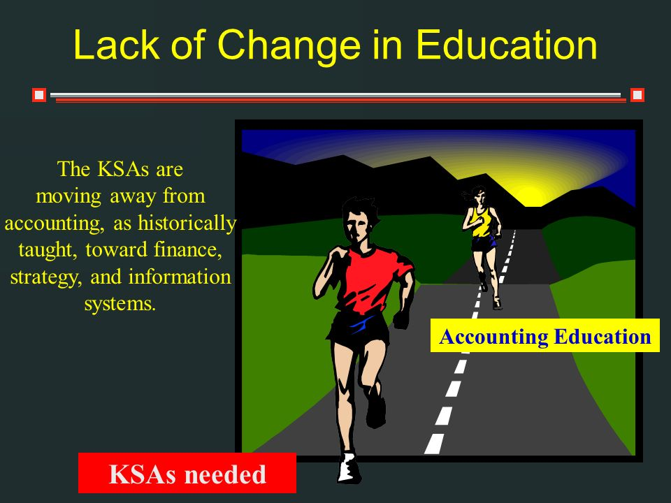 Lack of Change in Education