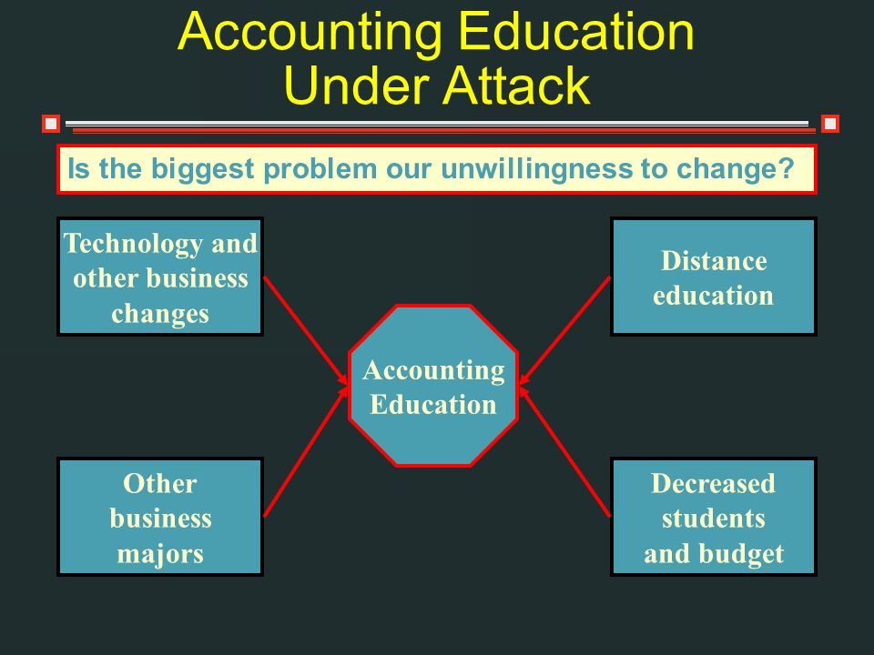 Accounting Education Under Attack