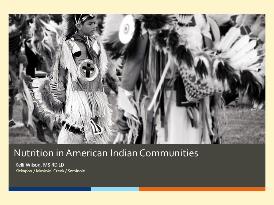 Nutrition in American Indian Communities