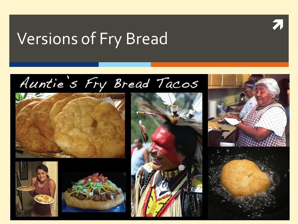 Versions of Fry Bread