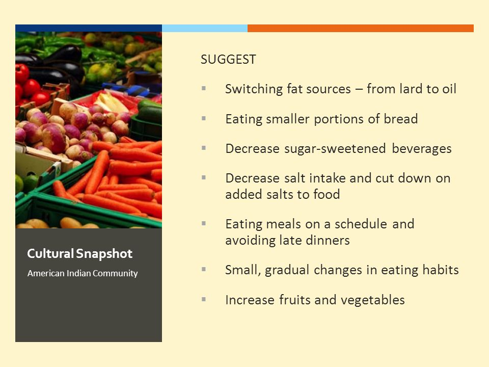 Switching fat sources – from lard to oil