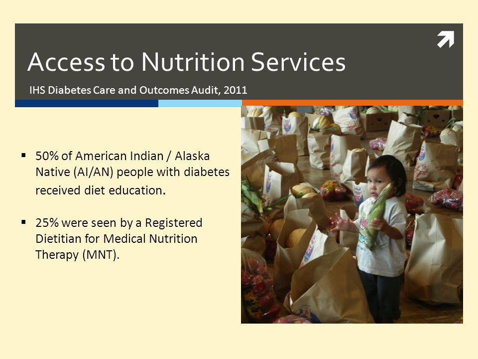 Access to Nutrition Services