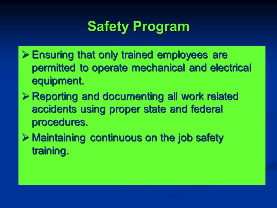 the safety program In 2010 engineering consulting services (ecs) launched the star program, an internal initiative to integrate safety as a core value and a fundamental part of our culture.