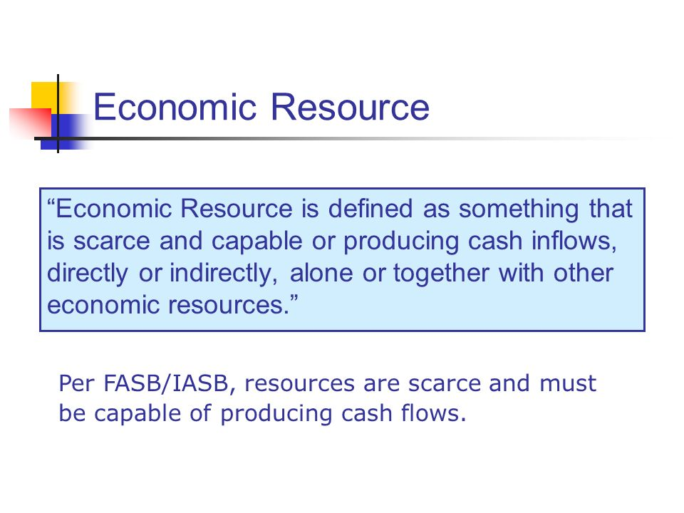 Economic Resource