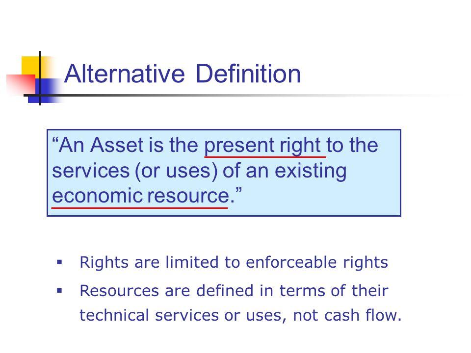 Alternative Definition