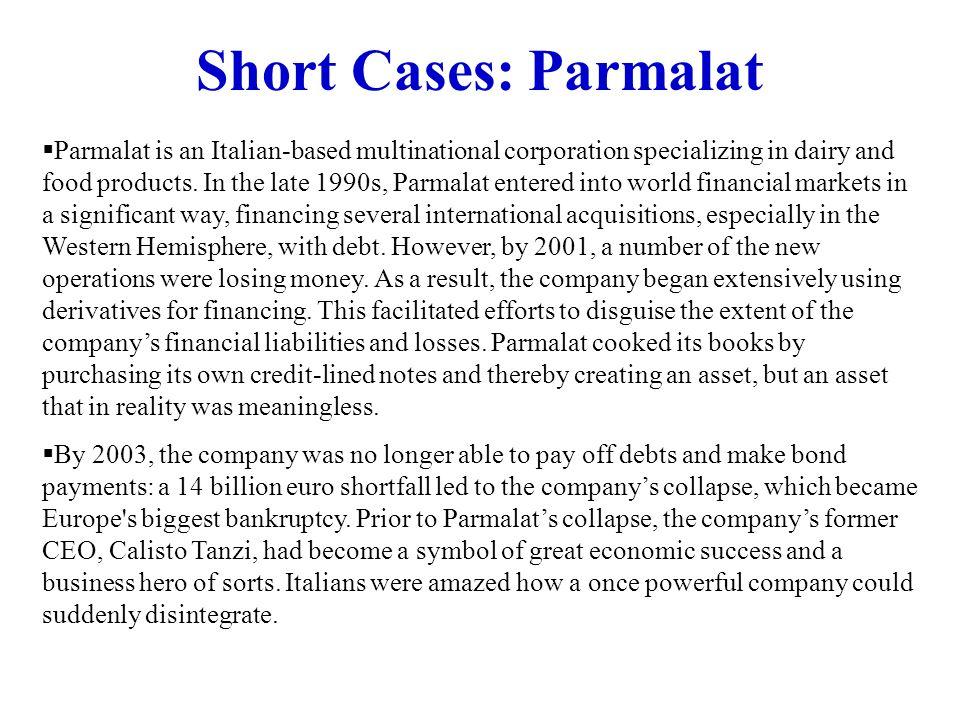 Short Cases: Parmalat