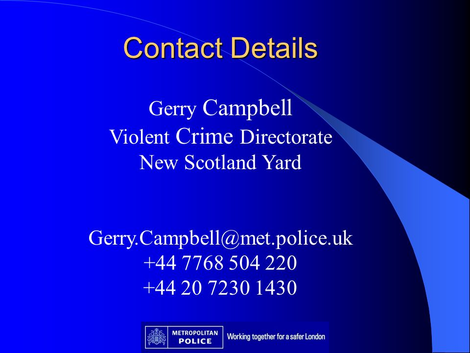 Violent Crime Directorate
