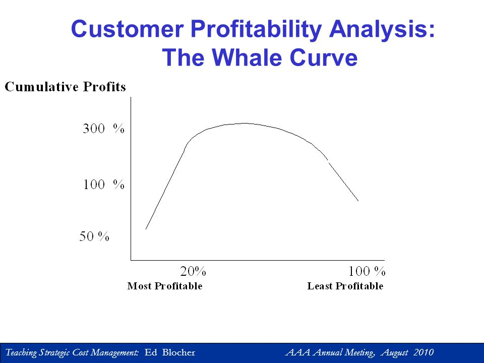 Customer Profitability Analysis: