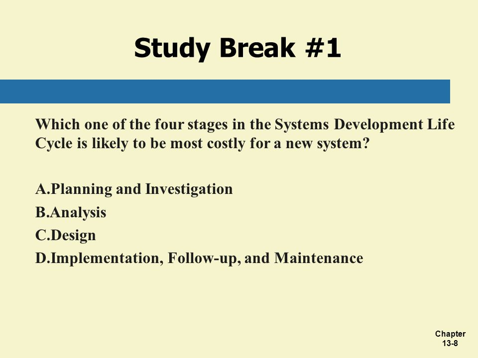 Chapter 13 Developing And Implementing Effective Accounting Information Systems Ppt Download