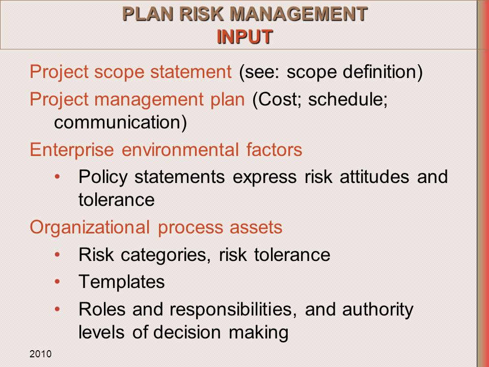 role of risk management in the procurement planning process Procurement planning is one of the most important and vital business processes in every company it gives a procurement plan aimed to provide productions with necessary resources when lead-times are too long and materials are too difficult to deliver, the analysis process (also known as the purchasing process) will play a pivotal role.