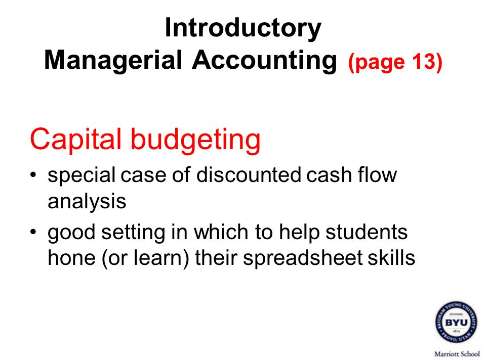 Introductory Managerial Accounting (page 13)