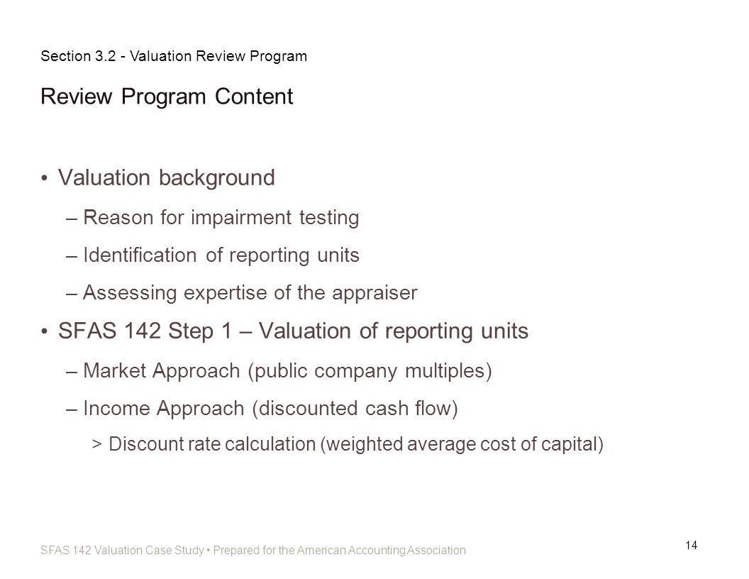 Review Program Content