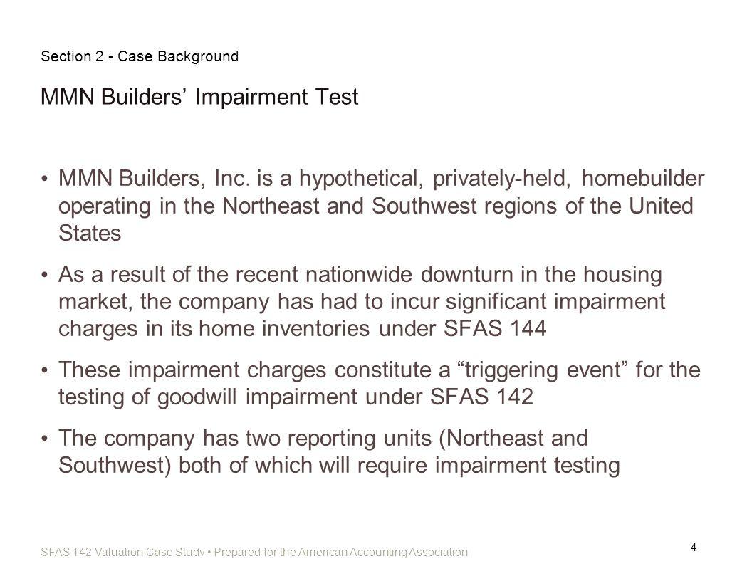 MMN Builders' Impairment Test