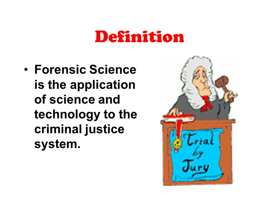 forensics and the criminal justice system As ingrained into our criminal justice system as forensic science would seem, the truth is that it is a relatively recent addition.