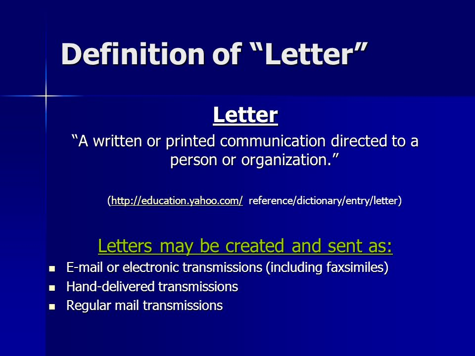 written communication definition yahoo dating