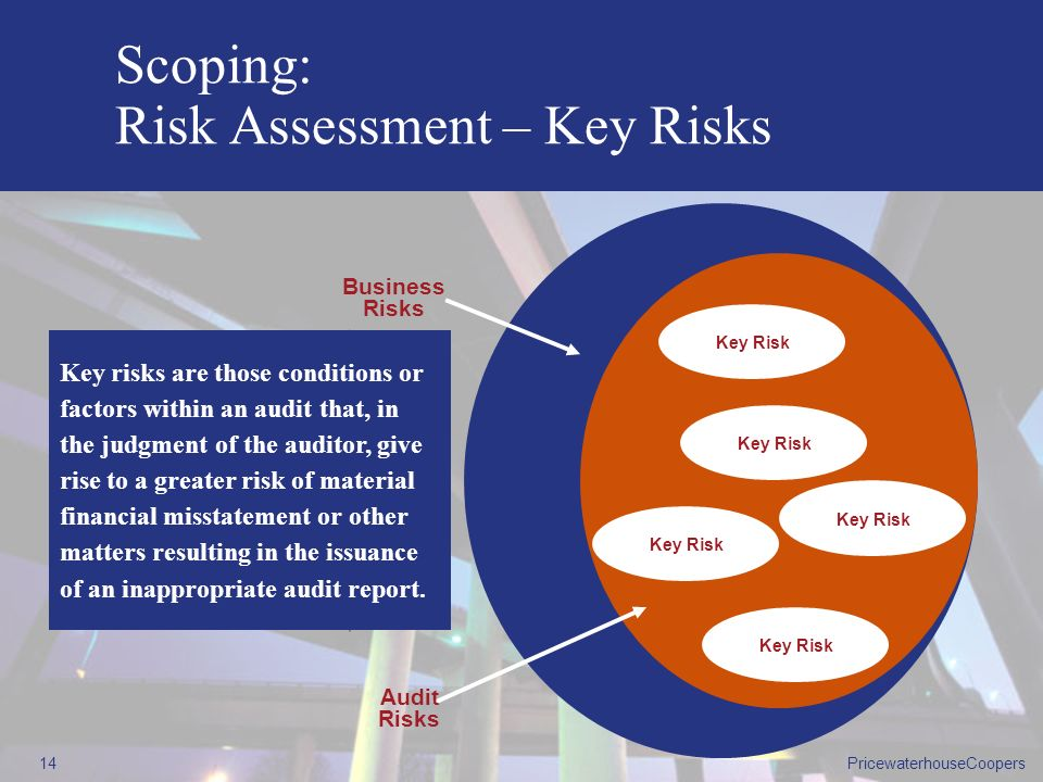 Scoping: Risk Assessment – Key Risks