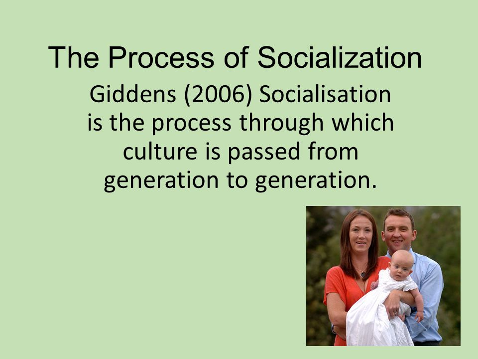 an essay on the process of socialization The word socialization can mean the process of making social the socialization of a dog or a cat with humans and with other dogs or cats can establish positive behaviors for pets.