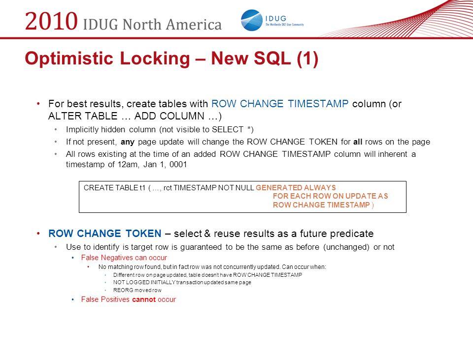 Mike winer ibm session code d10 may 13 45 platform for Design table not updating
