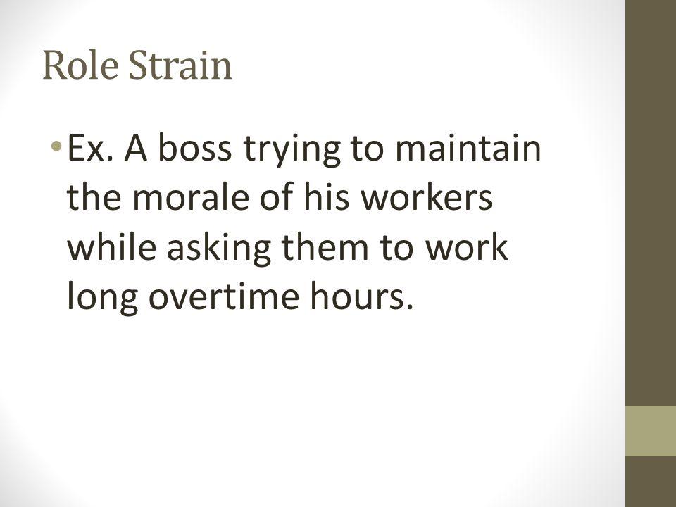 Role Strain Ex.