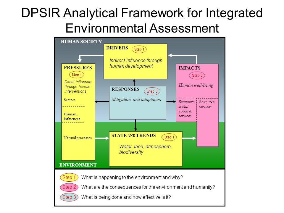 DPSIR Analytical Framework for Integrated Environmental Assessment