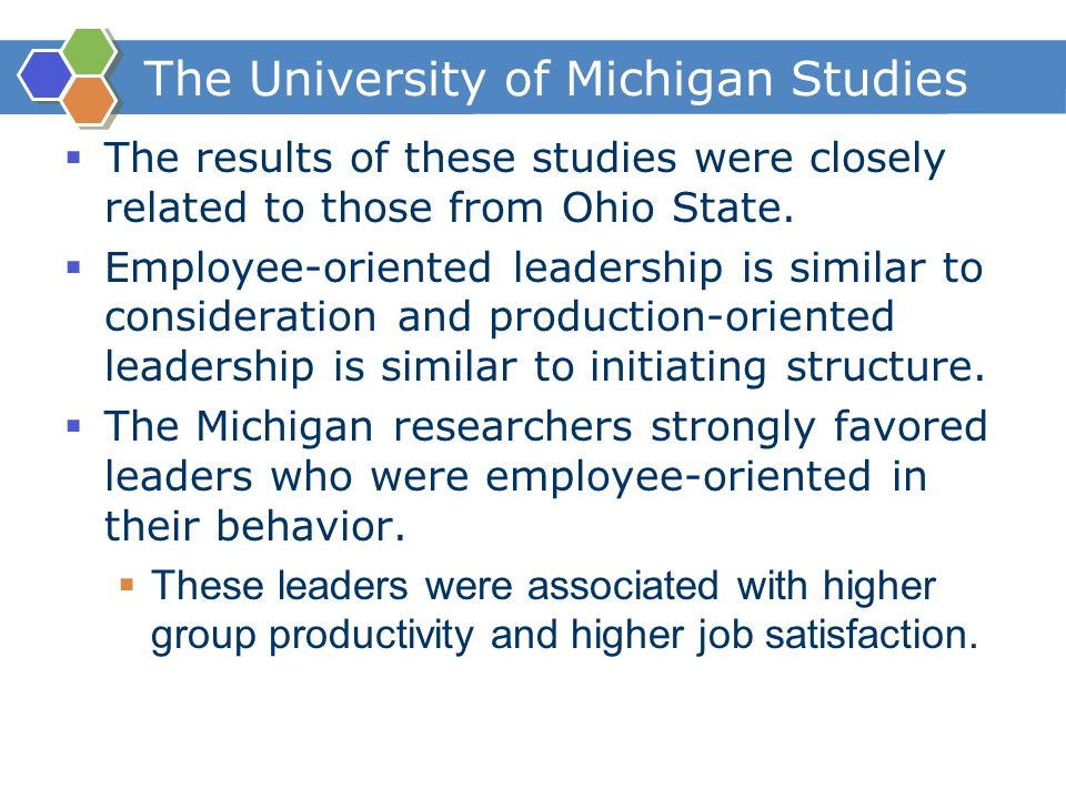 university of iowa ohio state and university of michigan studies related to leadership About iowa iowa's flagship  the university of iowa is one of the nation's premier public research  it is the state's oldest institution of higher education and.