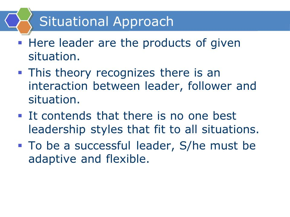a fit model of leadership and There are two main theories of leadership behavior,  the xyz in the box model of leadership  (fit for repetitive or work spread between sites and for.
