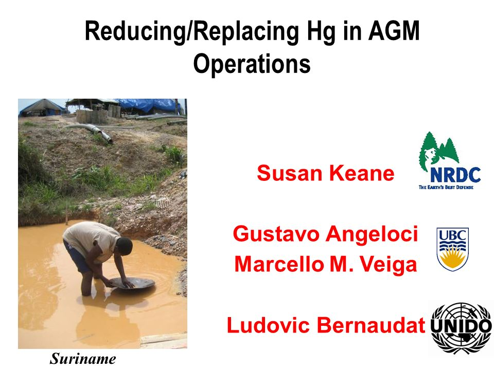 Reducing/Replacing Hg in AGM Operations