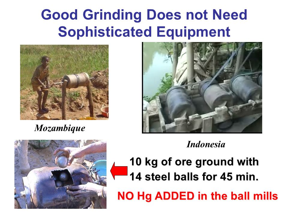 Good Grinding Does not Need Sophisticated Equipment