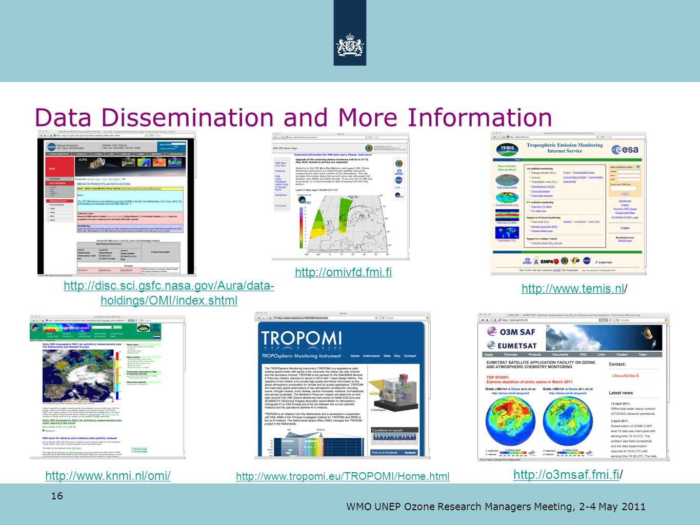 Data Dissemination and More Information