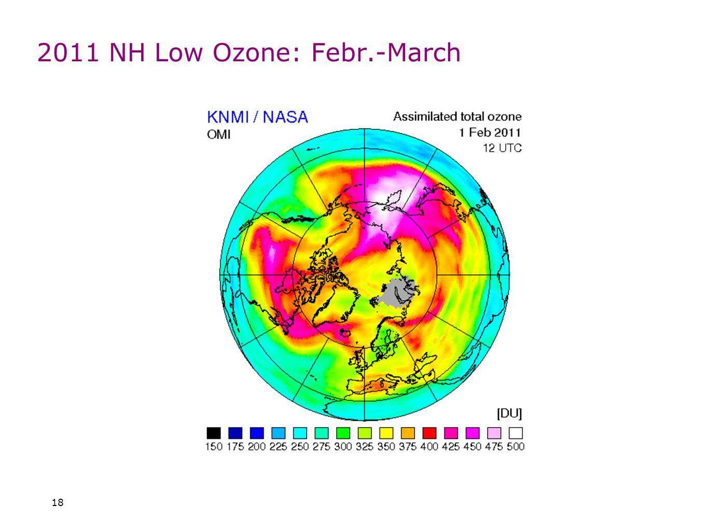 2011 NH Low Ozone: Febr.-March