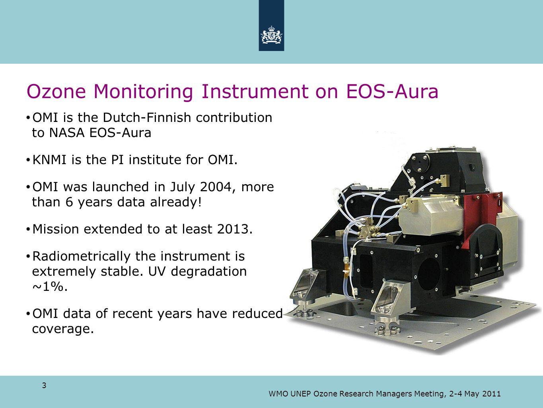Ozone Monitoring Instrument on EOS-Aura