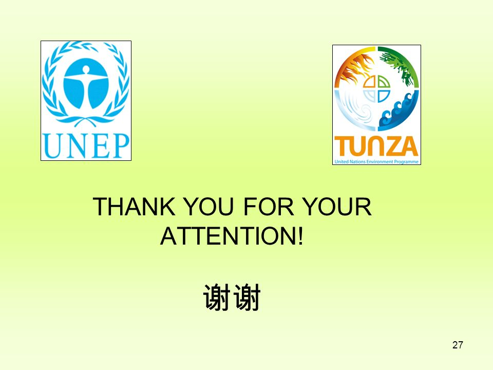 THANK YOU FOR YOUR ATTENTION! 谢谢
