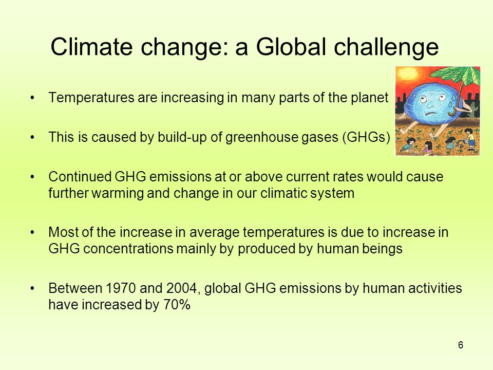 Climate change: a Global challenge