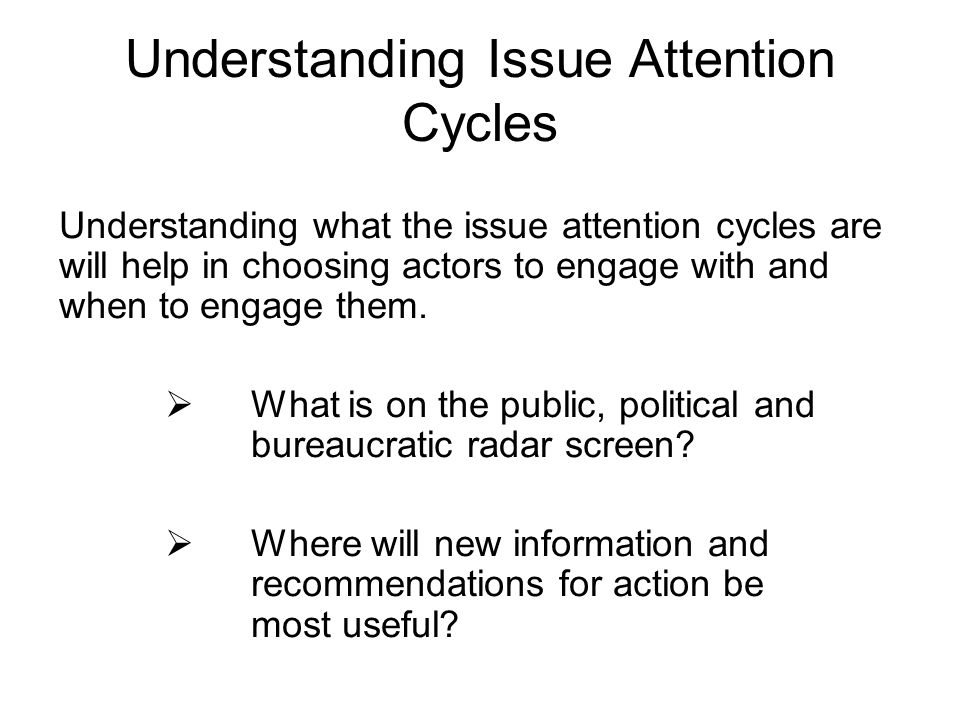 Understanding Issue Attention Cycles