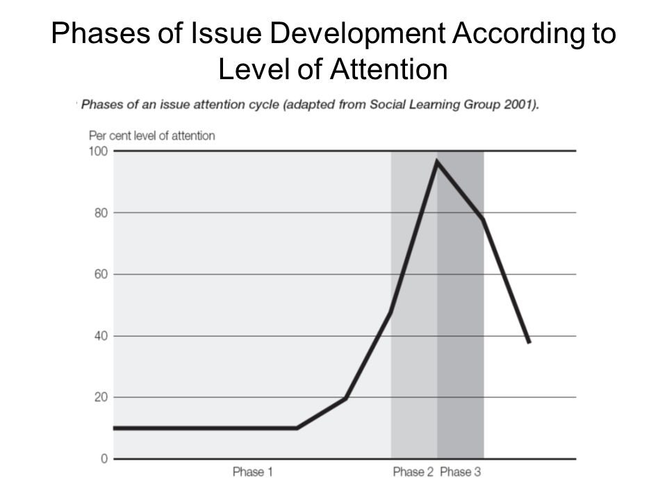 Phases of Issue Development According to Level of Attention