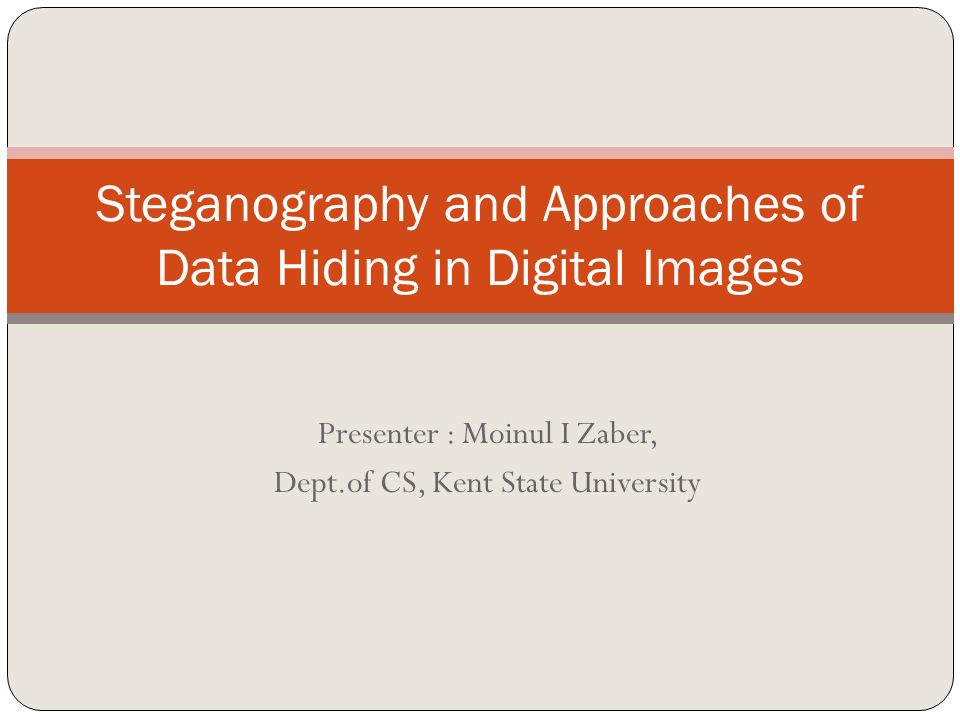 steganography research papers Open document below is an essay on steganography from anti essays, your source for research papers, essays, and term paper examples.