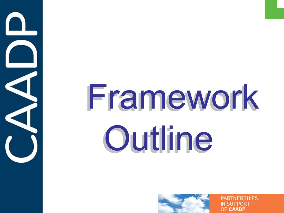 Framework Outline