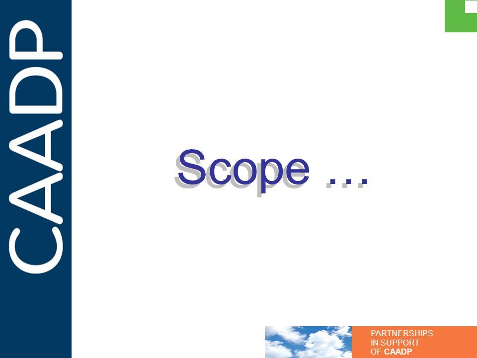 Scope …