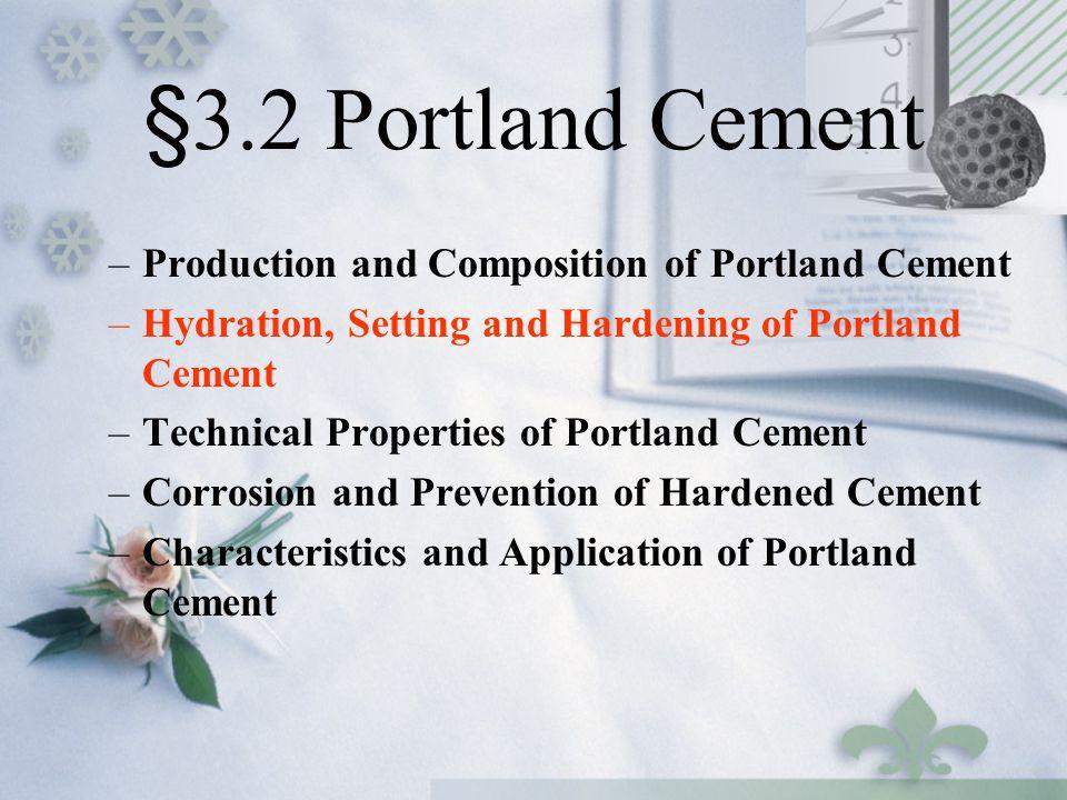 Portland Cement Composition : Chapter cement ppt video online download