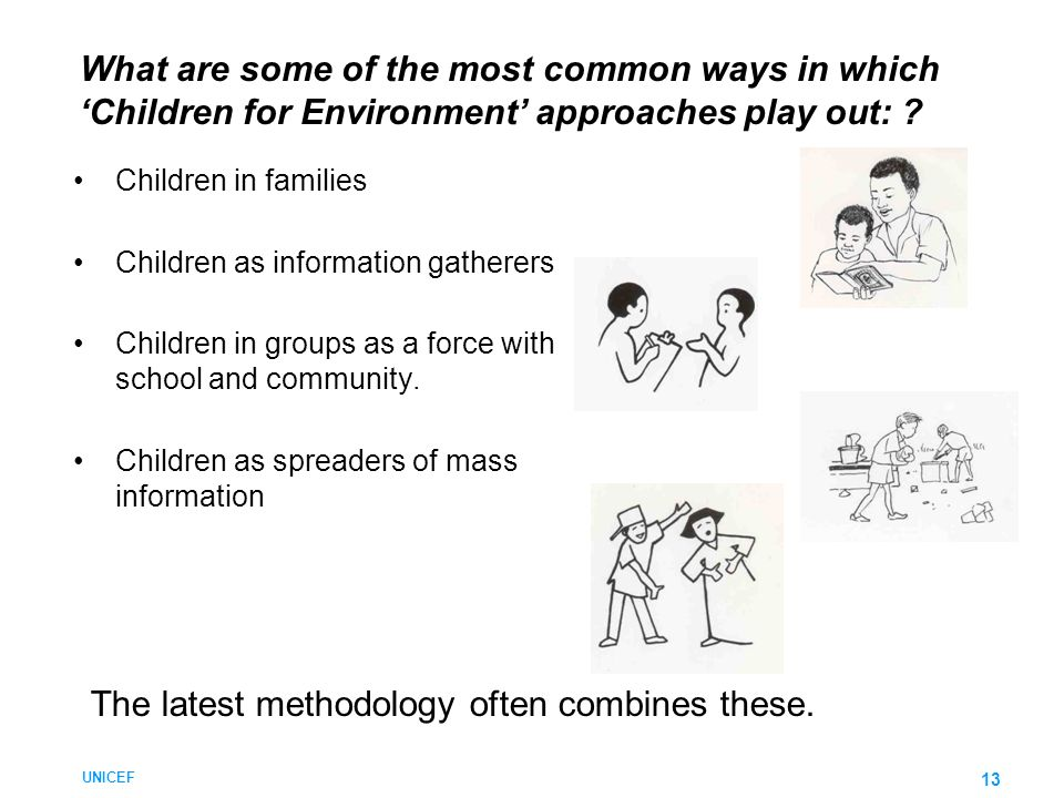 The latest methodology often combines these.