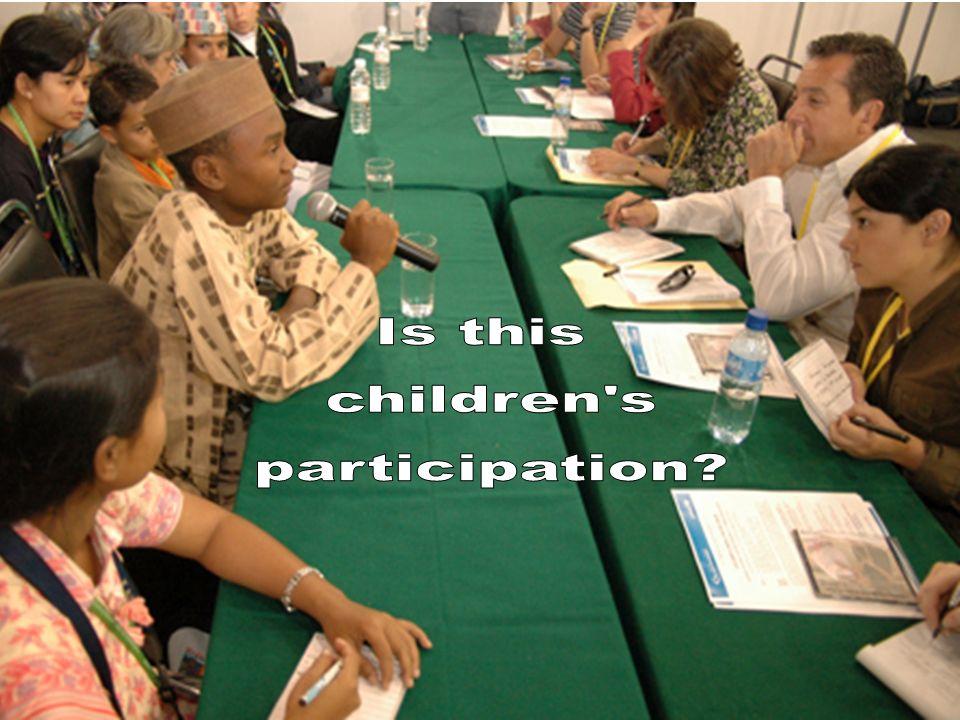 Is this children s participation