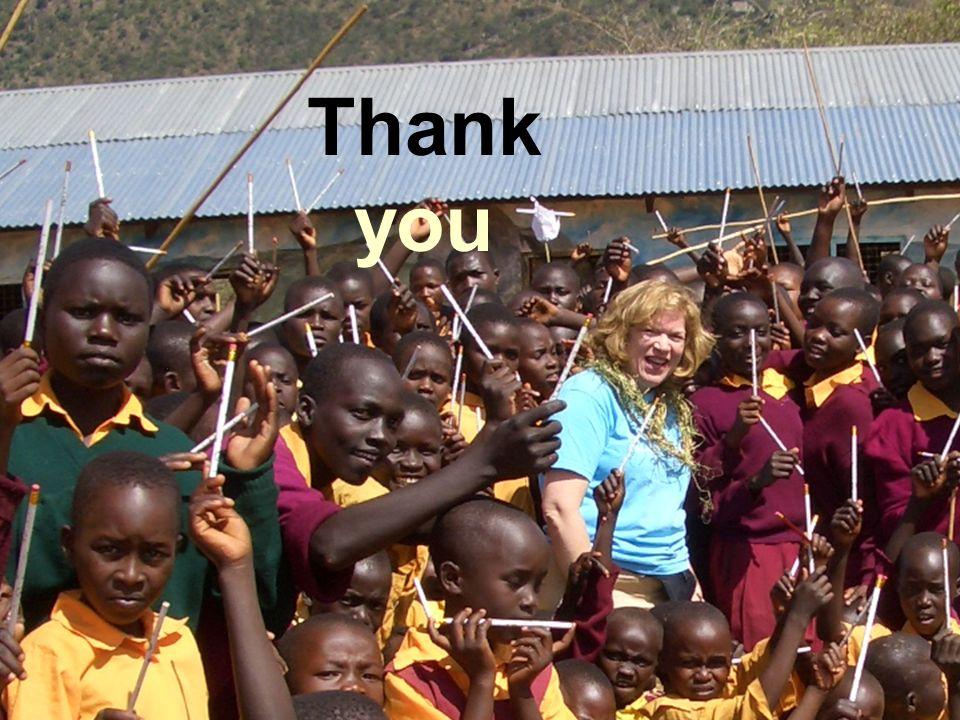 Thank you UNICEF