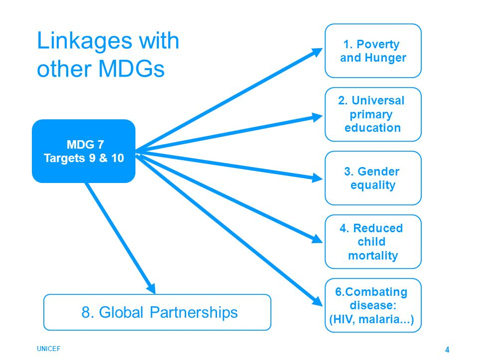 Linkages with other MDGs