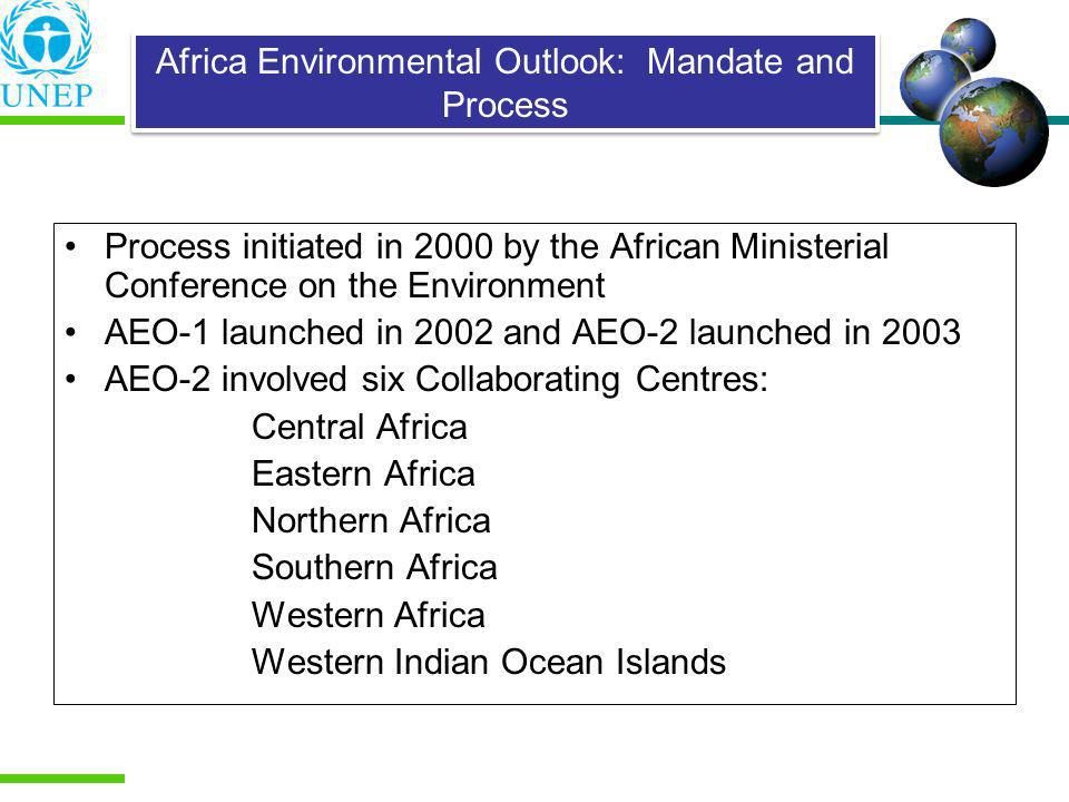 Africa Environmental Outlook: Mandate and Process