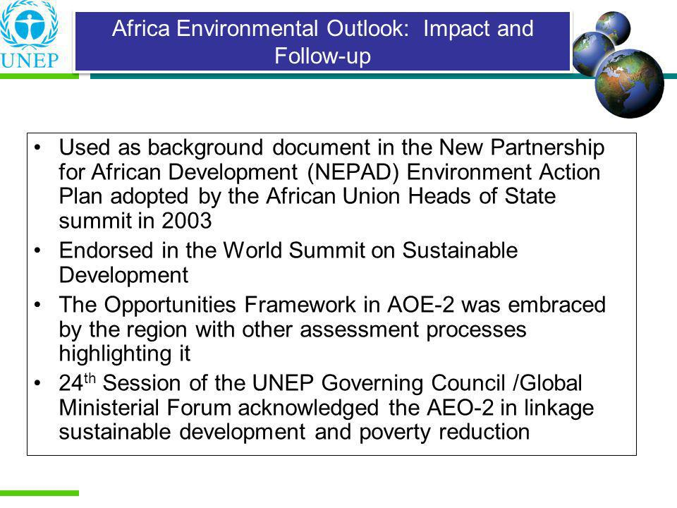 Africa Environmental Outlook: Impact and Follow-up
