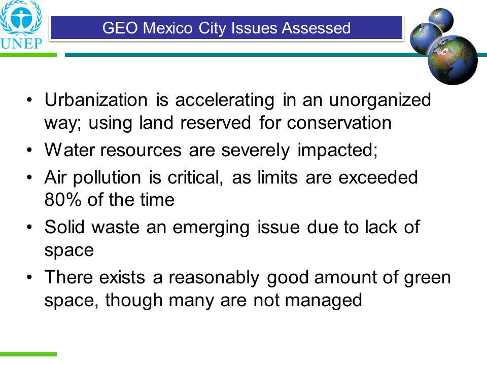 GEO Mexico City Issues Assessed