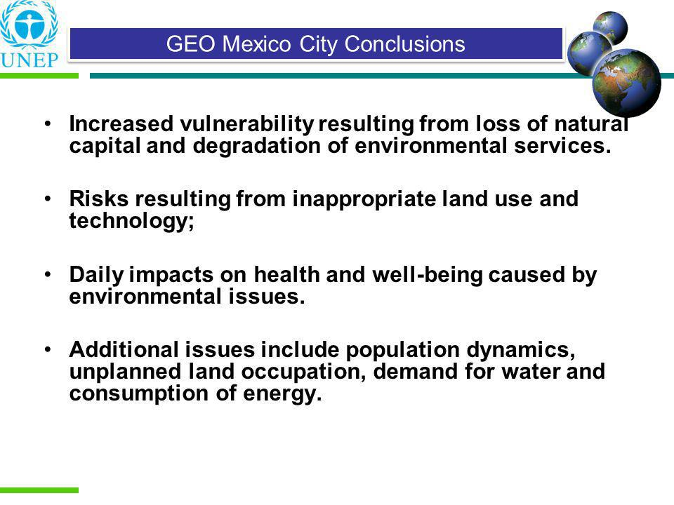 GEO Mexico City Conclusions
