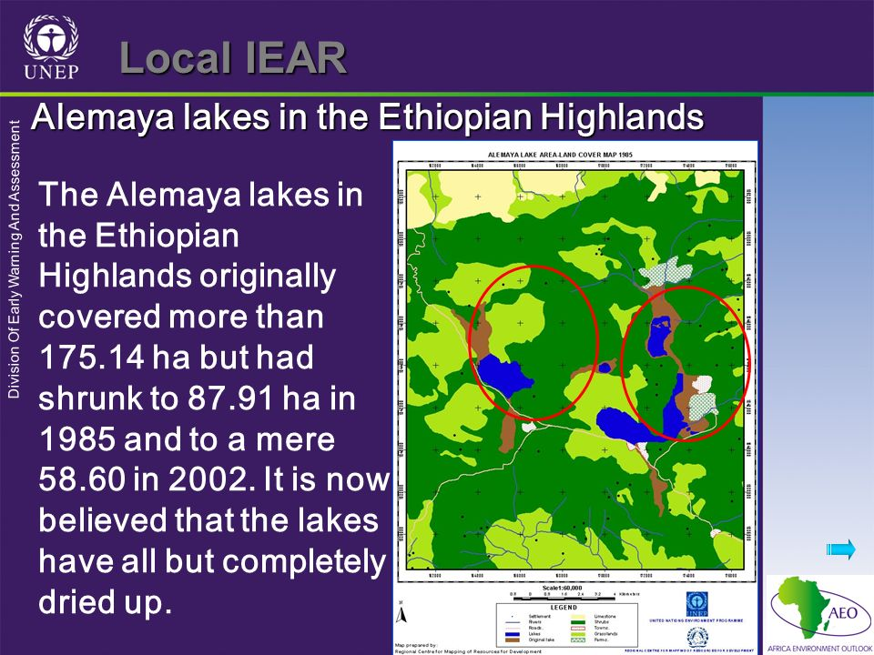Local IEAR Alemaya lakes in the Ethiopian Highlands