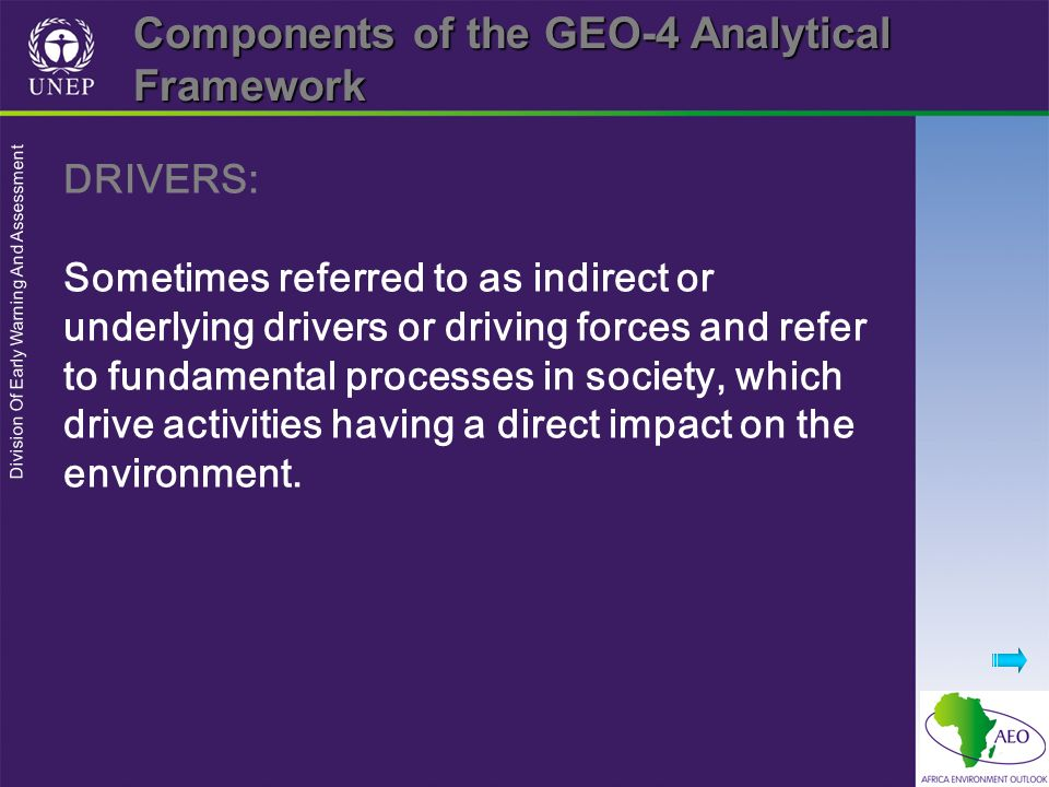 Components of the GEO-4 Analytical Framework