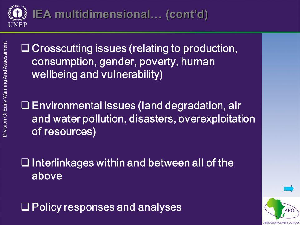 IEA multidimensional… (cont'd)